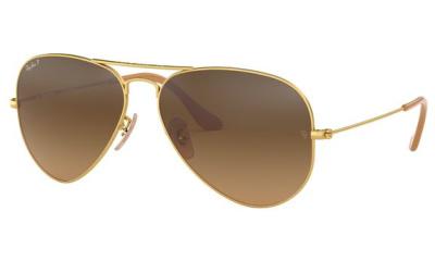 Lunettes de soleil RAY-BAN RB3025 112/M2 MATTE GOLD