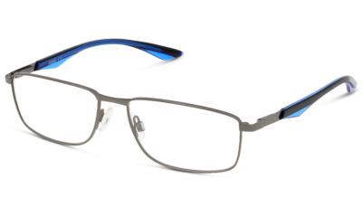 Lunettes de vue Puma PU0065O 008 RUTHENIUM-BLUE-TRANSPARENT
