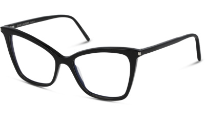 Lunettes de vue Saint Laurent SL 386 001 BLACK-BLACK-TRANSPARENT