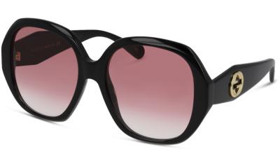 Lunettes de soleil Gucci GG0796S 002 BLACK RED
