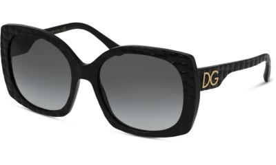 Lunettes de soleil Dolce & Gabbana DG4385 32888G BLACK TEXTURE COCCO
