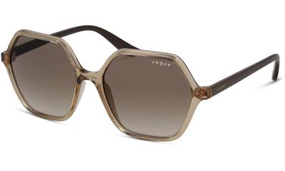 Lunettes de soleil Vogue Eyewear VO5361S 282613 TRANSPARENT CARAMEL