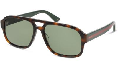 Lunettes de soleil Gucci GG0925S 002 HAVANA GREEN