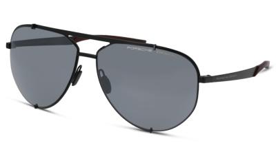Lunettes de soleil Porsche Design P8920 A BLACK BURGUNDY
