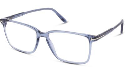 Lunettes de vue Tom Ford FT5696-B 090 SHINY BLUE