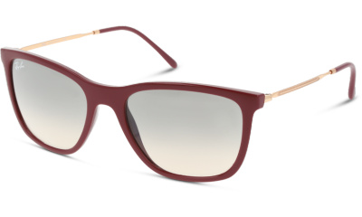 Lunettes de soleil RAY-BAN RB4344 653432 RED CHERRY