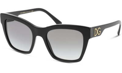 Lunettes de soleil Dolce & Gabbana DG4384 501/8G BLACK
