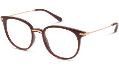 Lunettes de vue Dolce & Gabbana DG5071 3285 TRANSPARENT BORDEAUX