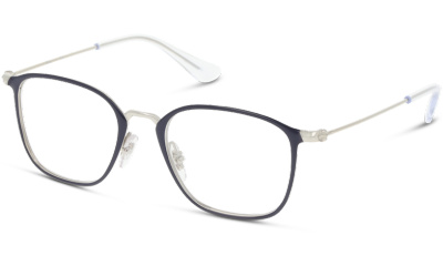 Lunettes de vue RAY-BAN RY1056 4080 SILVER ON BLUE