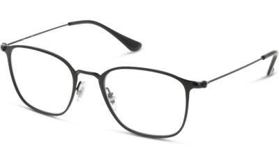 Lunettes de vue RAY-BAN RX6466 2904 MATTE BLACK ON BLACK