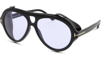 Lunettes de soleil Tom Ford FT0882 01Y shiny black / violet