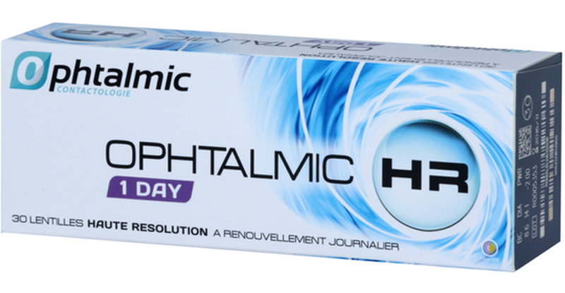 Lentilles de contact Ophtalmic Ophtalmic Hr 1 Day