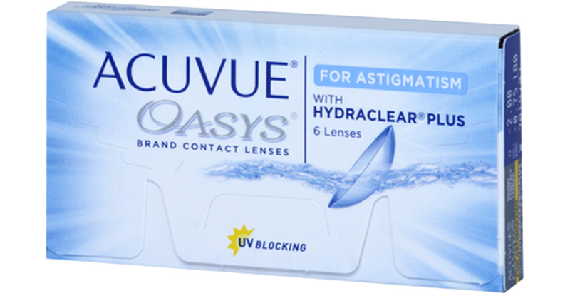 Lentilles de contact Acuvue Acuvue Oasys For Astigmatism With Hydraclear Plus