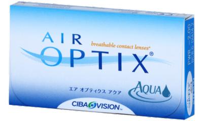 Lentilles de contact Air Optix Air Optix Aqua