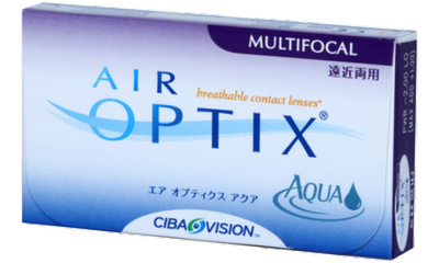 Lentilles de contact Air Optix Air Optix Aqua Multifocal