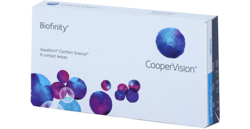 Lentilles de contact Biofinity Biofinity