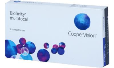 Lentilles de contact Biofinity Biofinity Multifocal N