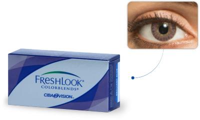Lentilles de contact Freshlook Freshlook Colorblends AMETHYSTE