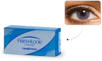 b268f6fad16e3 Lentilles de contact Freshlook Freshlook Colors VIOLET