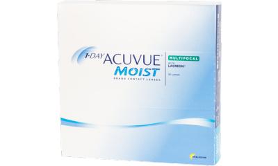 Lentilles de contact Acuvue 1 Day Acuvue Moist Multifocal