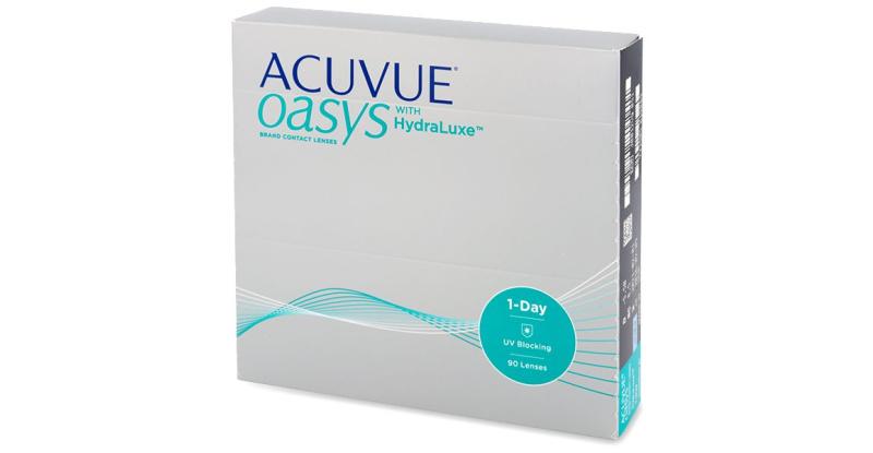 Lentilles de contact Acuvue Acuvue oasys 1 day