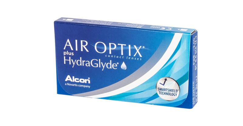 Lentilles de contact Air Optix Air optix plus hydraglyde