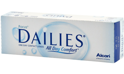 Lentilles de contact Dailies DAILIES ALL DAY COMFORT