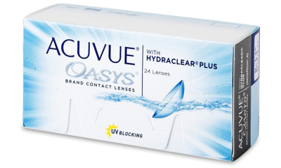 Lentilles de contact Acuvue Acuvue Oasys With Hydraclear Plus