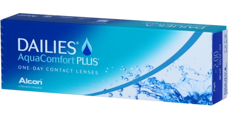 Lentilles de contact Dailies Dailies Aquacomfort Plus