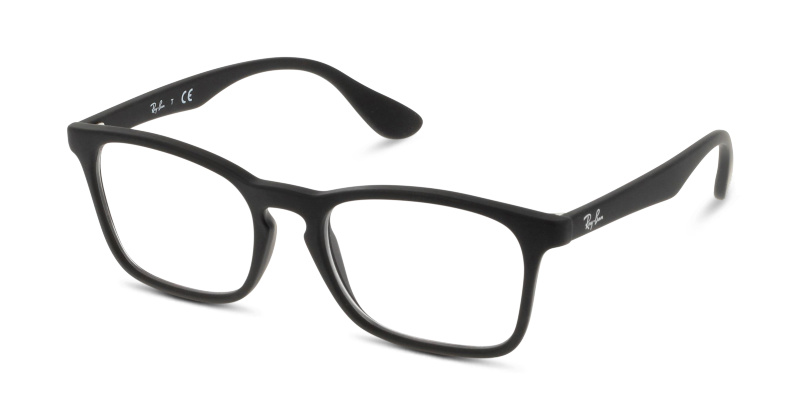 Rubber Lunettes BlackGrandoptical De Vue 5364 Ray 7074 Ban b76mYfgvIy