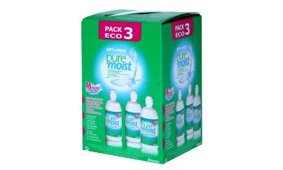 Produit Lentille OPTI-FREE Opti-Free Puremoist - Pack 3X300Ml