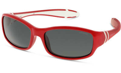 Lunettes de soleil Polaroid PLD 8000/S T15/Y2 RED WHITE/GREY PZ