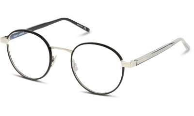 Lunettes de vue Saint Laurent SL 125 001 BLACK TRANSPARENT