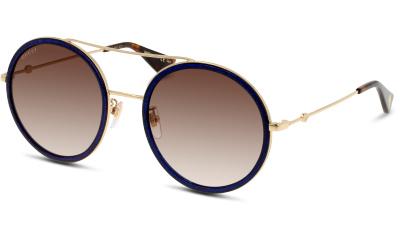 Lunettes de soleil Gucci GG0061S 005 GOLD-GOLD-BROWN
