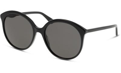 Lunettes de soleil Gucci GG0257S 001 BLACK-GREY