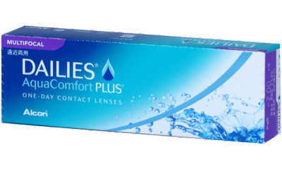Lentilles de contact Dailies Dailies Aquacomfort Plus Multifocal