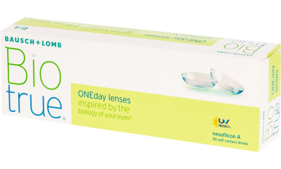 Lentilles de contact Biotrue BIOTRUE ONE DAY