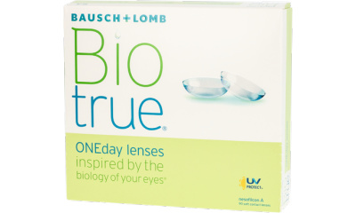 Lentilles de contact Biotrue BIOTRUE ONEDAY