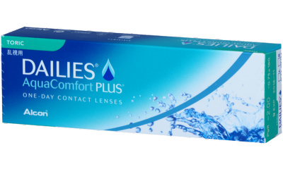 Lentilles de contact Dailies Dailies Aquacomfort Plus Toric