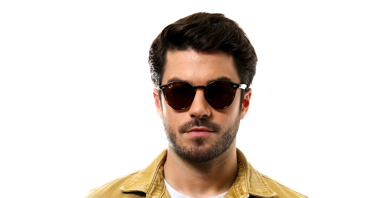 lunettes de soleil pour homme ray ban noir rb2180