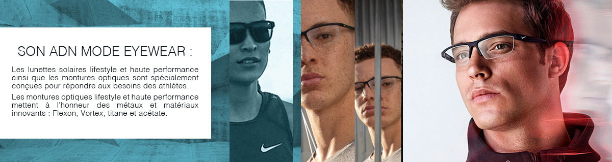 Nike pour Grand Optical