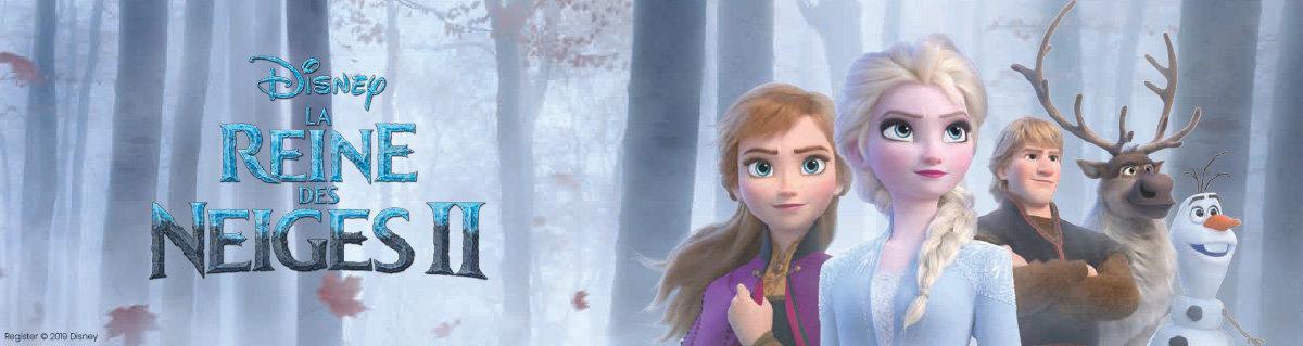La reines des neiges 2 pour Grand Optical