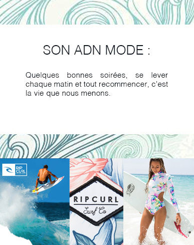 Rip Curl pour Grand Optical